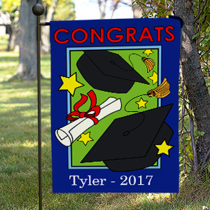 Personalized Graduation Garden Flag 83058902