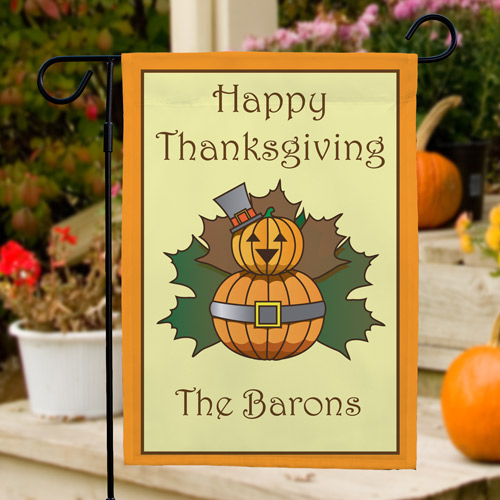 Personalized Thanksgiving Garden Flag  83059852