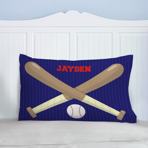 Personalized Baseball Fan Pillow | Personalized Pillowcases