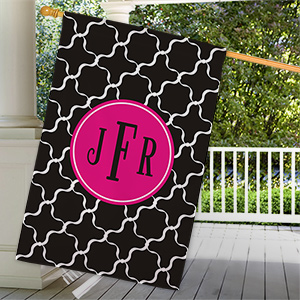 Monogram Madness House Flag 83062952L