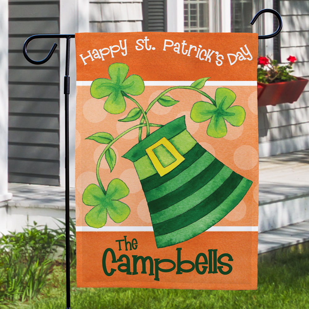 St Patrick's Day Flag | Personalized Irish Gifts