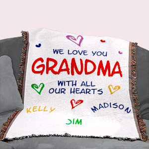 Personalized Love Tapestry Throw Blanket 8306325