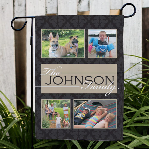 Family Collage Photo Garden Flag 83069922