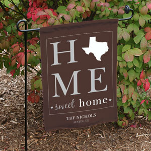Personalized Home Sweet Home Welcome Garden Flag 83074712