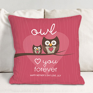 Personalized Love You Forever Throw Pillow 83075743X