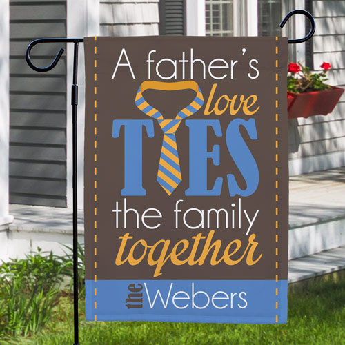 Personalized Father's Day Garden Flag | Father's Day Gifts