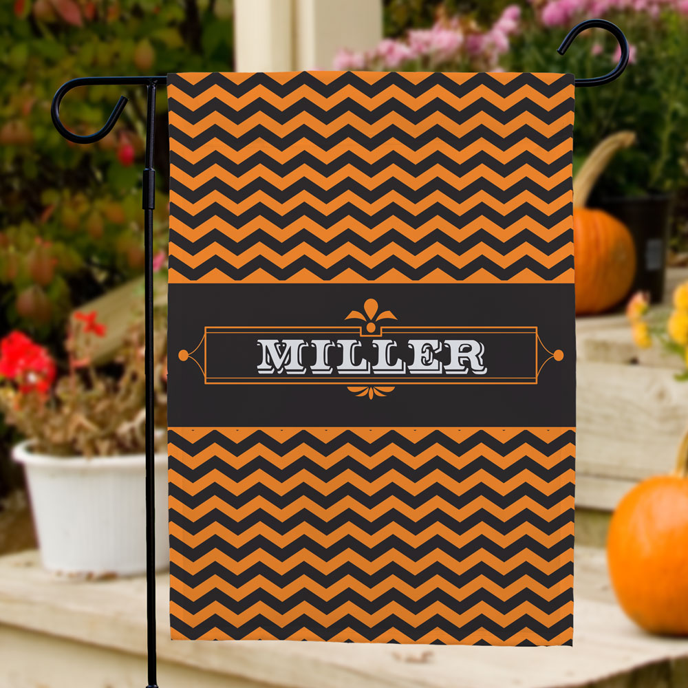 Personalized Halloween Family Garden Flag 83078652