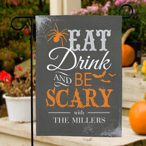 Halloween Garden Flag | Personalized Garden Flags