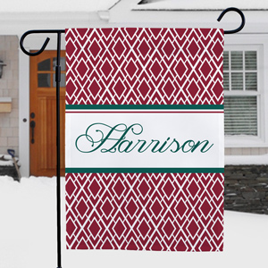 Personalized Holiday Garden Flag | Personalized Christmas Flags