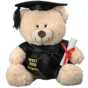 Any Message Personalized Graduation Teddy Bear