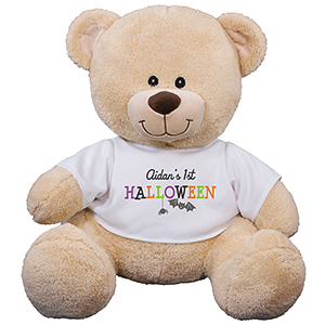 Personalized First Halloween Sherman Bear