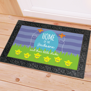 Family Home Of Personalized Doormat | Personalized Doormat