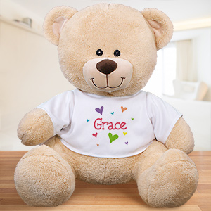 Personalized All Heart Teddy Bear | Valentine Day Teddy Bears
