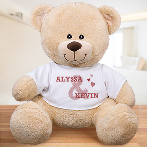 Personalized Couples Teddy Bear | Valentine Day Teddy Bears