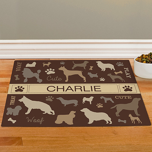 Personalized All Breeds Pet Mat