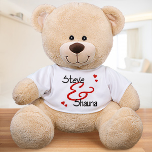 Personalized Couples Teddy Bear 8324239BX