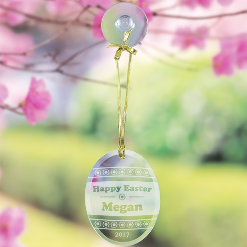 Engraved Easter Egg Suncatcher 832894