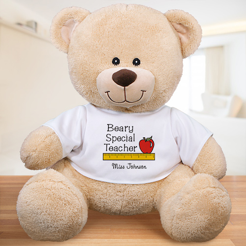 Personalized Beary Special Teacher Teddy Bear 833019X