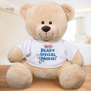 Personalized Beary Special Nurse Teddy Bear 833099X