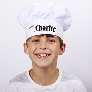Personalized Grill Master Youth Chef Hat 835378