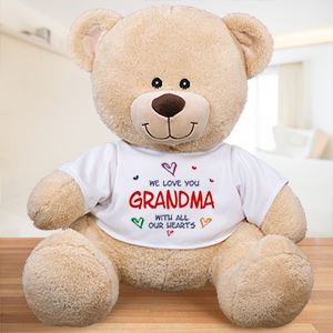Personalized All Our Hearts Teddy Bear 836329X