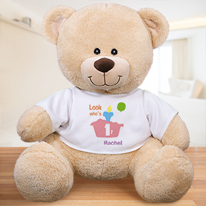 Personalized Birthday Teddy Bear | Personalized Baby Gifts