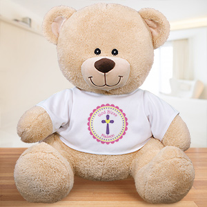 Personalized God Bless Teddy Bear 837257G9X