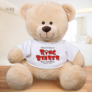 Personalized Ringbearer Teddy Bear 838009X