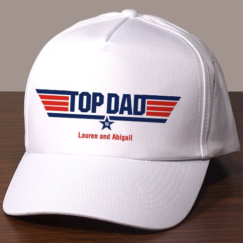 Personalized Top Dad Hat 842646