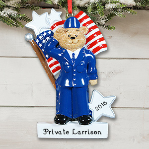 Personalized Air Force Ornament 843673
