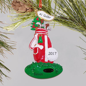 Golf Ornament | Personalized Golf Ornament