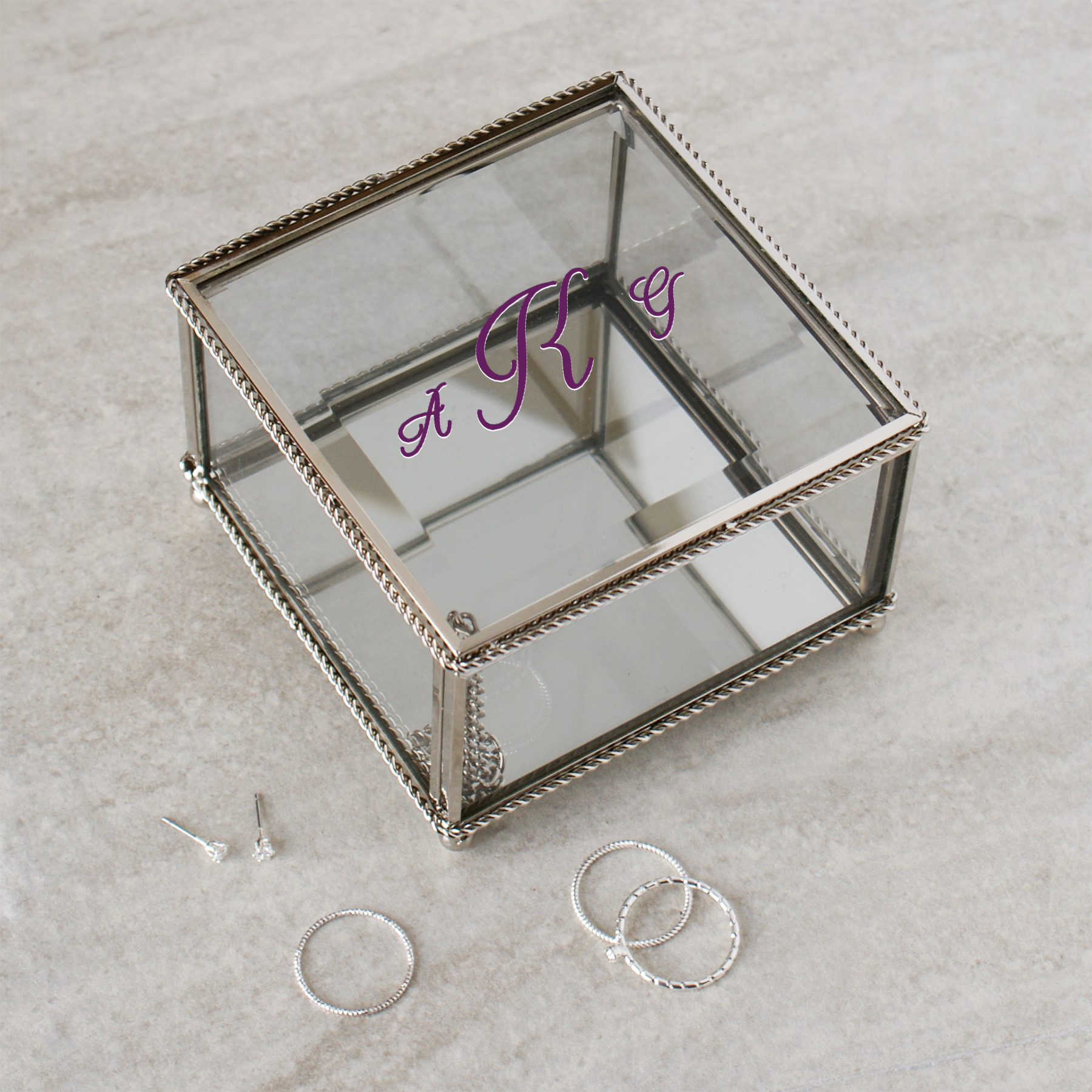 Personalized Monogrammed Jewelry Box | Monogrammed Gifts