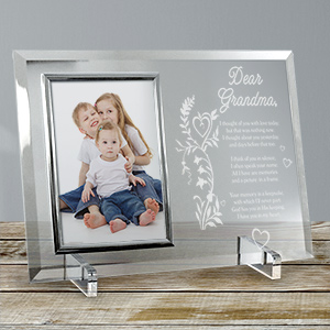Your Memory is a Keepsake Personalized Beveled Glass Picture Frame 8533868