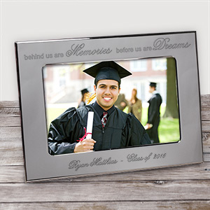 Personalized Graduation Silver Picture Frame