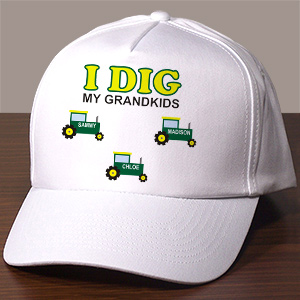 Personalized I Dig My Kids Hat 859356
