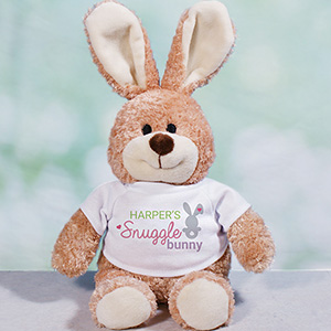 Personalized Snuggle Bunny Easter Bunny