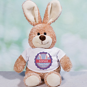 Personalized Bunny Ears Easter Bunny