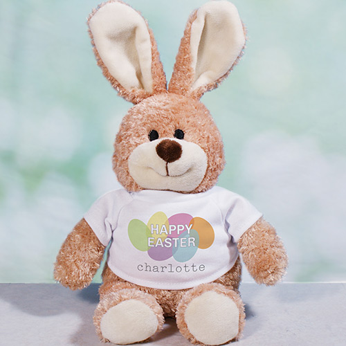 Happy Easter Personalized Easter Bunny | Easter Gifts For Babies