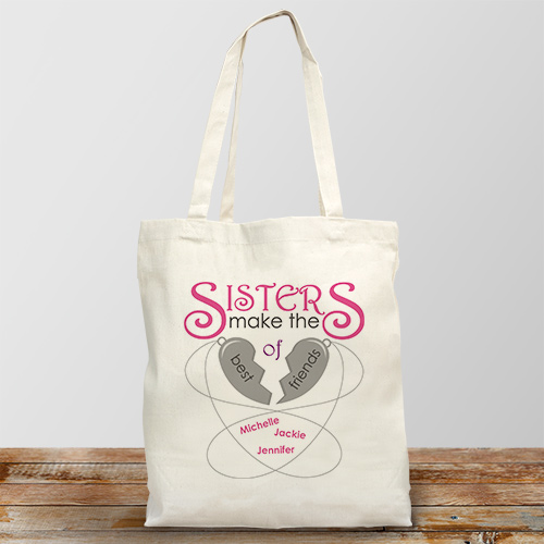 Personalized Sisters Make The Best Friends | Personalized Sister Gifts