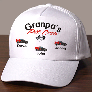 Personalized Pit Crew Hat 862196