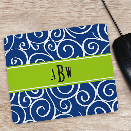 Monogram Madness Mouse Pad 862959X