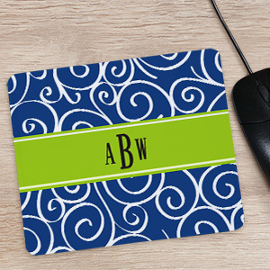 Monogram Madness Mouse Pad | Computer Gifts