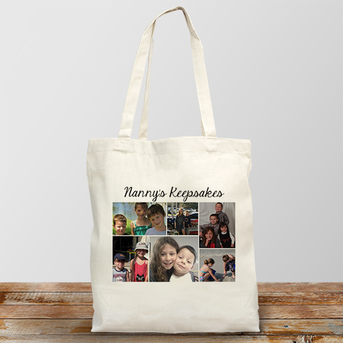 Collage Photo Canvas Tote Bag 863092