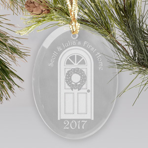 Our First Home Glass Ornament 879994