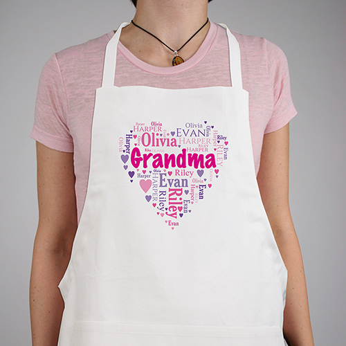 Personalized Heart Belongs To Apron | Mother's Day Gifts