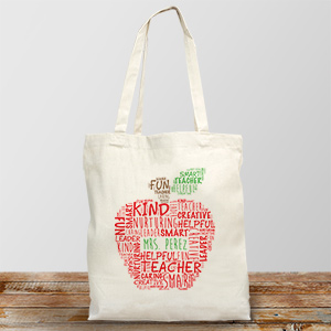 Teacher Tote Bag | Personalized Teacher Gifts