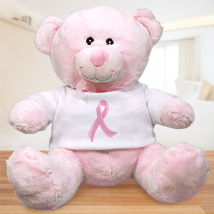Hope Ribbon Breast Cancer Teddy Bear 8946415