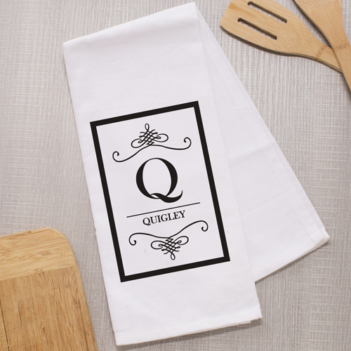 Personalized Family Name Dish Towel 895629
