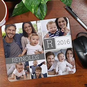 Family Photo Collage Mousepad 8988509