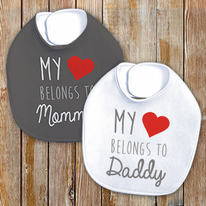 Personalized Belong's To Bib 89981